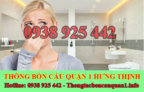 dịch vụ khử mùi hôi cống mùi hôi toilet nhà vệ sinh Quận 1 Hưng Thịnh