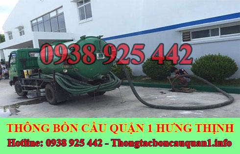 Số điện thoại hút hầm cầu Quận 1 giá rẻ 0938925442 BH 4năm