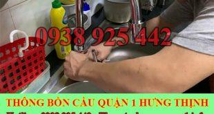 Thợ sửa bồn rửa chén bát Quận 1 tại nhà giá rẻ uy tín 0909994175