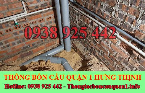 Thông đường ống nước bị tắc nghẹt giá rẻ LH 0938925442