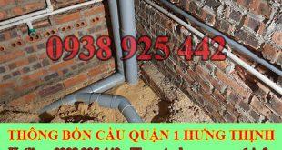 Thông đường ống nước bị tắc nghẹt Quận 1 giá rẻ 0909994175