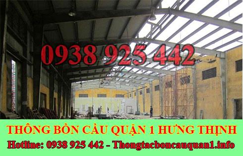 Thu mua xác nhà kho xưởng cũ Quận 1 giá cao 0938925442