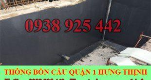 Bảng giá vệ sinh bể chứa nước ngầm Quận 1 giá rẻ 0909994175