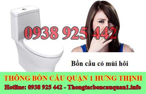 Dịch vụ xử lý mùi hôi nhà vệ sinh quận 1 giá rẻ LH 0938925442