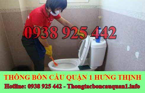 Số điện thoại thông bồn cầu Quận 1 giá rẻ 0938925442 BH 4năm