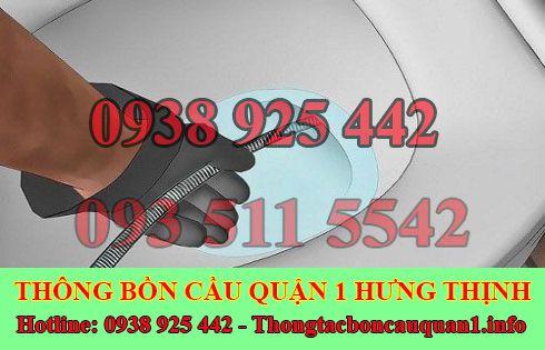 Thông Tắc Bồn Cầu Quận 1 Hưng Thịnh 0935115542