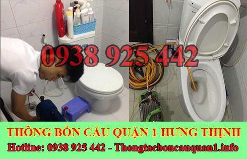 Thông Tắc Bồn Cầu Quận 1 Hưng Thịnh 0938925442