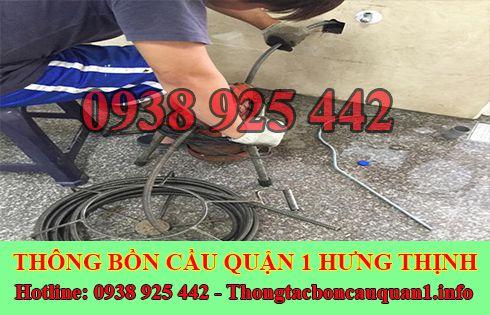 Dịch vụ thông cống nghẹt quận 1 giá rẻ LH 0935115542