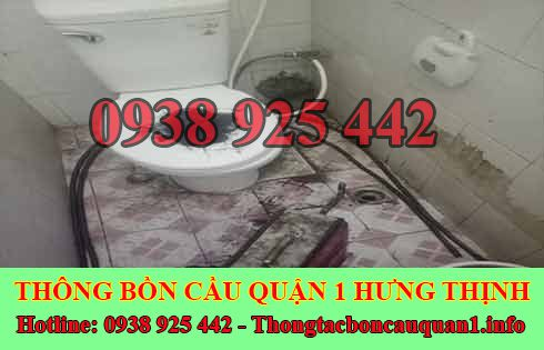Thông cống bị tắc tóc bằng máy lò xo giá rẻ 0938925442