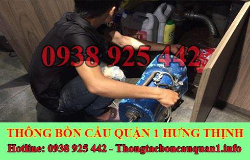 dịch vụ thông tắc nghẹt bồn rửa chén bát bồn rửa mặt lavabo Quận 1