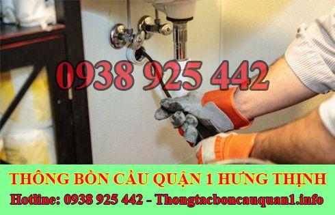 Thông tắc bồn chậu rửa chén bát quận 1 giá rẻ LH 0938925442