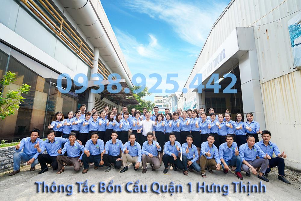 Đội ngũ công ty Thông tắc bồn cầu quận 1 Hưng Thịnh