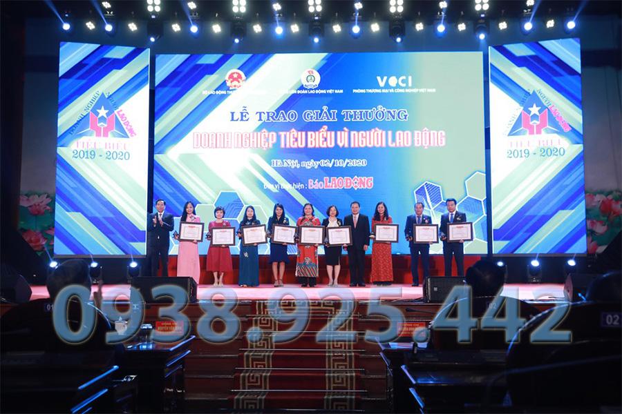 Lễ trao giải doanh nghiệp tiêu biểu của Thông Tắc Bồn Cầu Quận 1 Hưng Thịnh