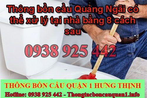 Thông bồn cầu Quảng Ngãi Hưng Thịnh 68K BH 26 tháng