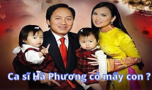 Ca sĩ Hà Phương có mấy con?