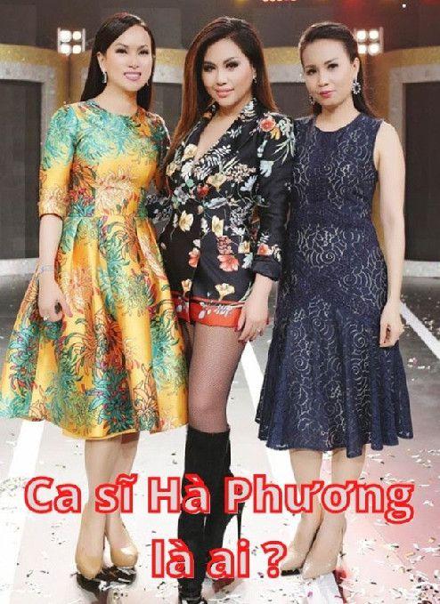 Ca sĩ Hà Phương là ai?