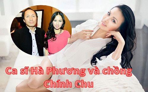 Ca sĩ Hà Phương và chồng Chính Chu