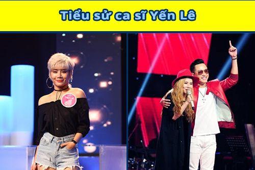 Ca sĩ Yến Lê the voice